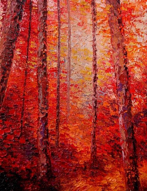 Art: Commission - trees by Artist Aja