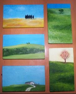 Detail Image for art Tuscan Hill<img src=