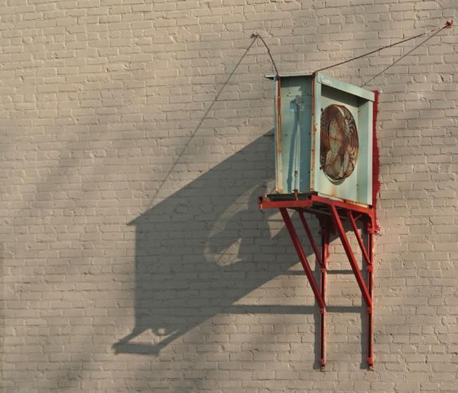 Art: Wall Fan by Artist Lisa Miller