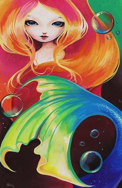 Art: Mermaid Colors by Artist Nico Niemi
