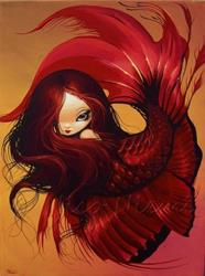 Art: Lovely Red by Artist Nico Niemi