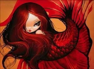 Detail Image for art Lovely Red