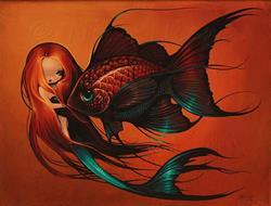 Art: My Fish by Artist Nico Niemi