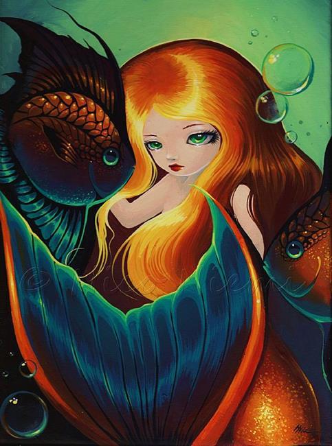 Art: Aquatic Companions by Artist Nico Niemi