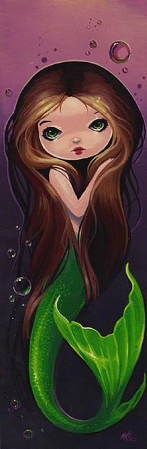 Art: Sweet Emerald Tail by Artist Nico Niemi