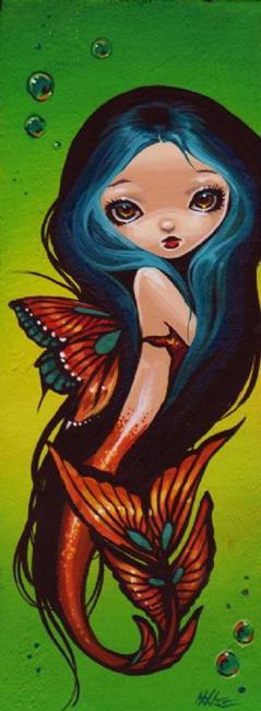 Art: Little Sea Butterfly by Artist Nico Niemi