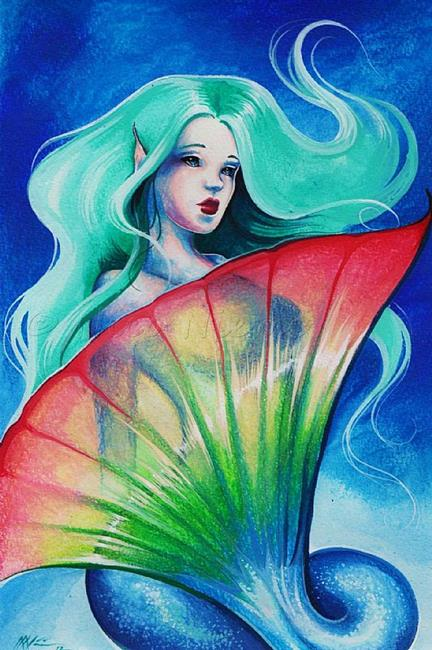Art: RainbowTail Maid by Artist Nico Niemi
