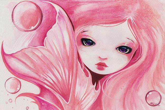 Art: Sweet Bubbles by Artist Nico Niemi