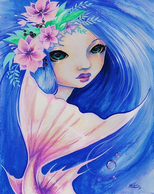 Art: Amelie by Artist Nico Niemi