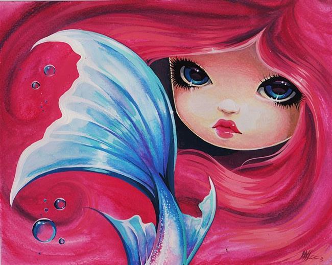 Art: Darling Mermaid by Artist Nico Niemi