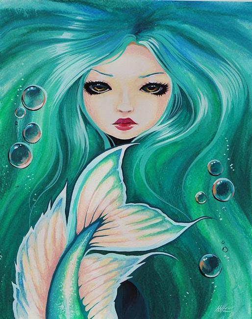 Art: Sea Maiden by Artist Nico Niemi