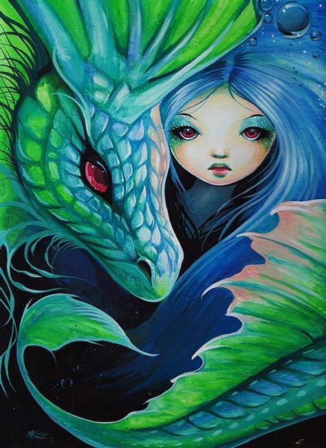 Art: Sea Beauties by Artist Nico Niemi