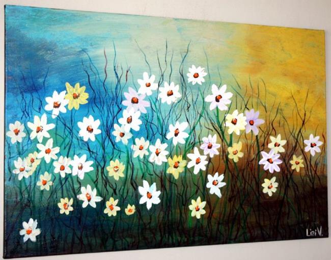 Art: WILD FLOWERS~ by Artist LUIZA VIZOLI