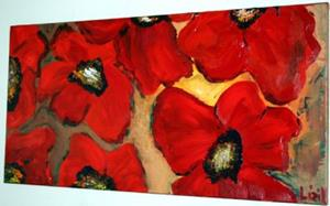 Detail Image for art RED POPPIES