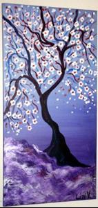 Detail Image for art MAGIC PURPLE SUNSET