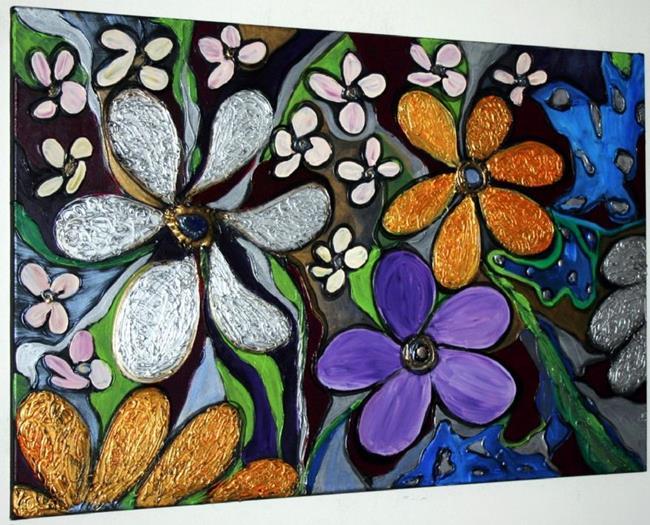 Art: FANTASY GARDEN by Artist LUIZA VIZOLI