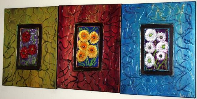 Art: FLOWERS FOR YOUR HOME by Artist LUIZA VIZOLI