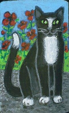 Art: Gigi and the Poppies by Artist Marina Owens