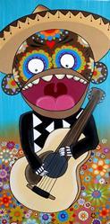 Art: El Cantante by Artist Veronique Perron