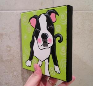 Detail Image for art The Boston Terrier