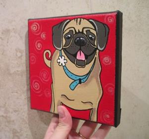 Detail Image for art The Pug