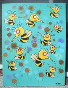 Detail Image for art Buzzing Bees