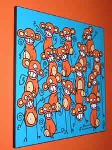 Detail Image for art Twisted Monkeys