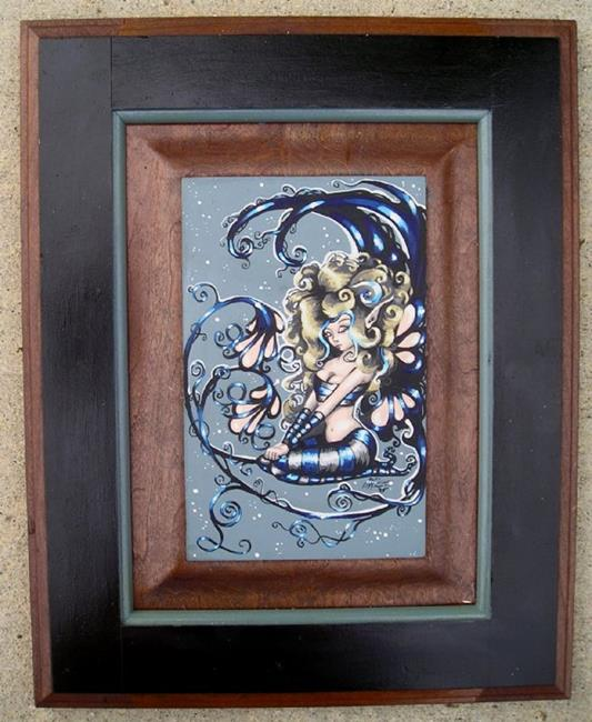 Art: Fairy in Blue by Artist Nico Niemi