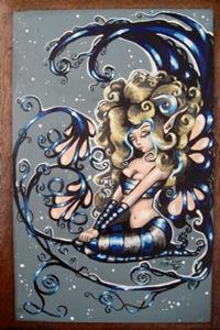 Detail Image for art Fairy in Blue