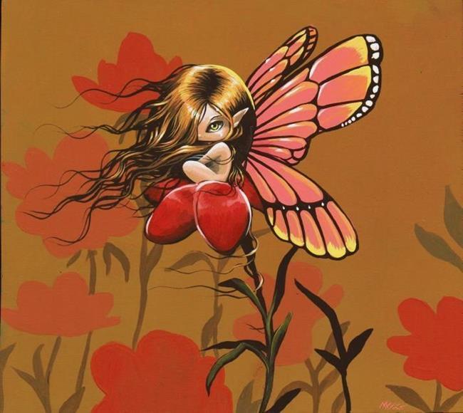 Art: Bright Wings by Artist Nico Niemi