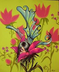Art: In the Petals by Artist Nico Niemi