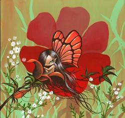Art: In the Petals Too by Artist Nico Niemi