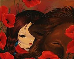 Art: Falling Asleep by Artist Nico Niemi