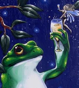 Detail Image for art Frog and Fae