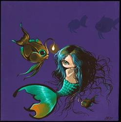 Art: Mermaid in the Deep by Artist Nico Niemi