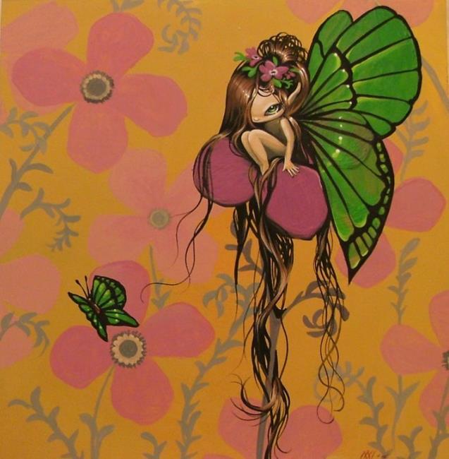 Art: Green Wings by Artist Nico Niemi
