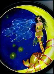 Art: Moon Fairy by Artist Nico Niemi