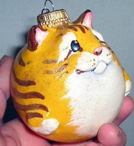 Detail Image for art Yellow Tabby