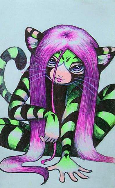 Art: Tigirl by Artist Nico Niemi