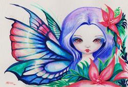 Art: Bright Petals by Artist Nico Niemi