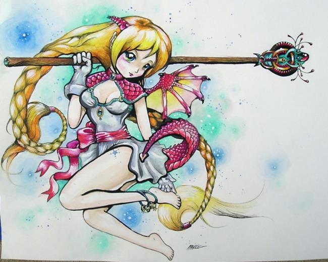 Art: Arii by Artist Nico Niemi
