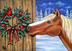 Art: Smells like Christmas by Artist Rhonda Gilbert