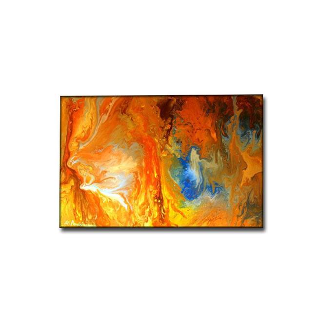 Art: MY ANGEL by Artist HENRY PARSINIA