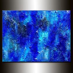 Art: BLUE LAGOON 15 by Artist HENRY PARSINIA