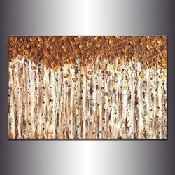 Art: GOLDEN FOREST by Artist HENRY PARSINIA