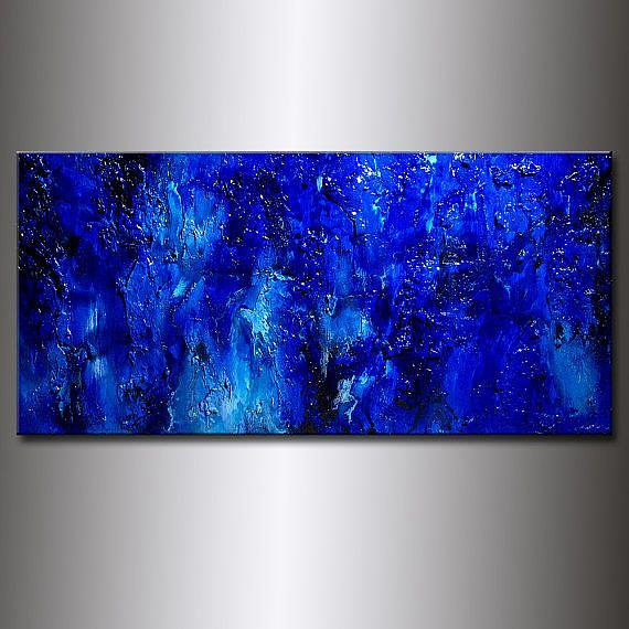 Art: BLUE LAGOON 18 by Artist HENRY PARSINIA