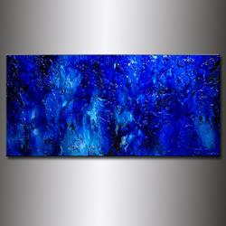Art: BLUE LAGOON 19 by Artist HENRY PARSINIA