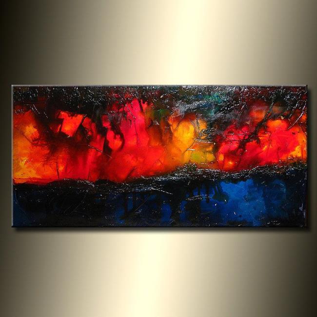 Art: MALIBU SUNSET 2 by Artist HENRY PARSINIA