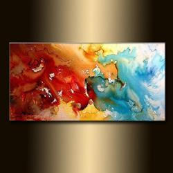 Art: SYMPHONY OF LOVE 12 by Artist HENRY PARSINIA