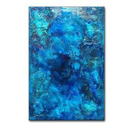 Art: OCEAN BLUE 3 by Artist HENRY PARSINIA